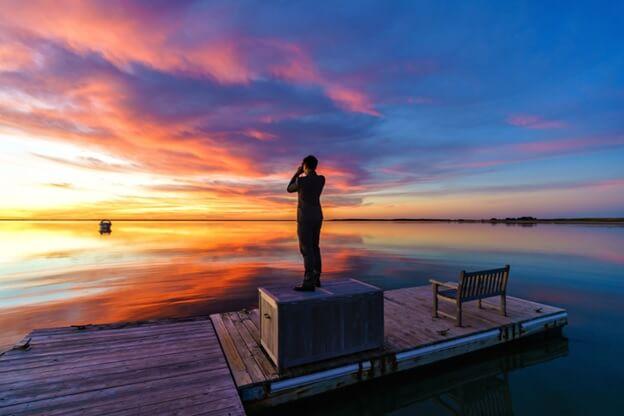 cape cod sunset photos