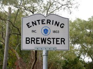 brewster ma sign_entering brewster massachusetts