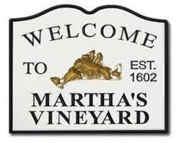 welcome to martha's vineyard sign_chilmark massachusetts tourism_cape cod tourism_chilmark cape cod