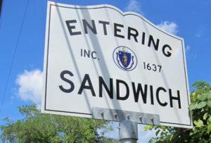 sandwich massachusetts sign_entering sandwich ma_cape cod tourism