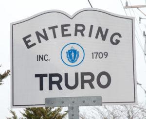 Truro MA sign_entering Truro Massachusetts_Cape Cod Truro_Cape Cod Tourism