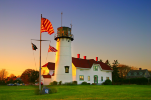 image of chatham light, chatham, massachusetts_cape cod lighthouses