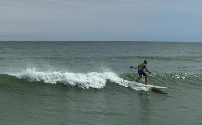 watching surfers at cisco beach 1