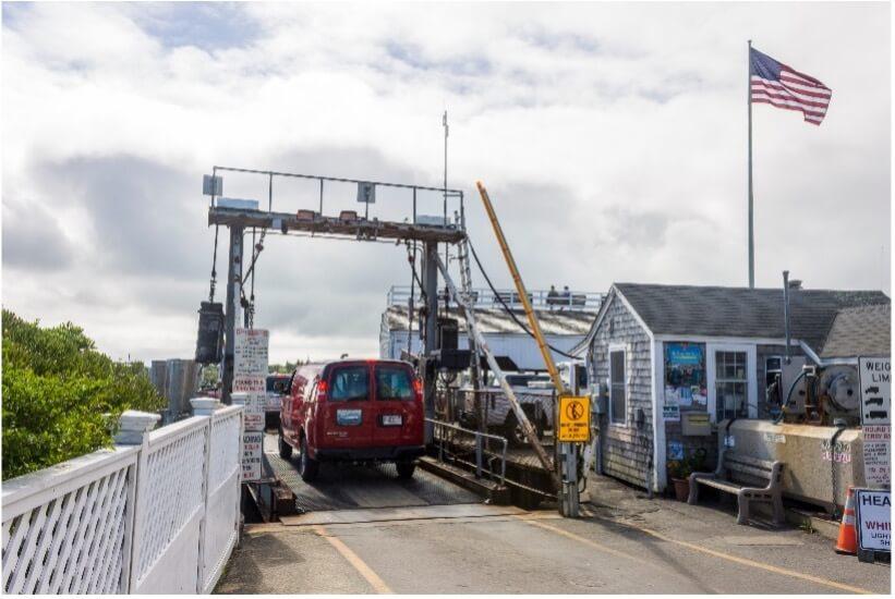 Chappaquiddick Massachusetts ferry_Cape Cod day trip
