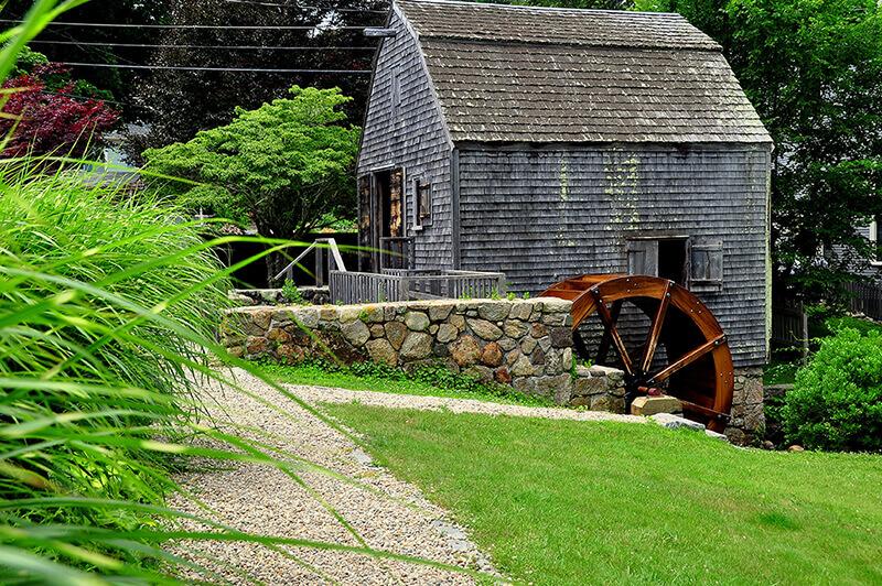 dexter's grist mill in sandwich massachusetts_cape cod museum