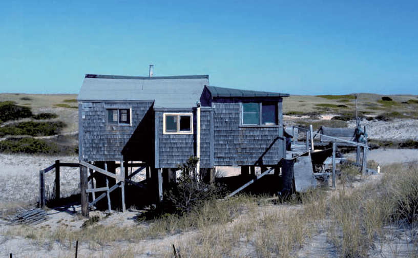 nicholas and ray wells shack_ dune shacks of peaked hill bars historic district