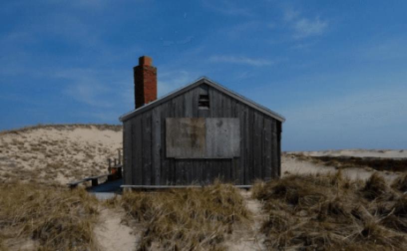philip malicoat shack_ dune shacks of peaked hill bars historic district_cape cod sand dunes