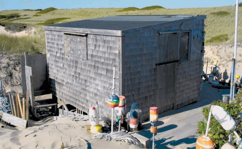 randolph and annabelle jones shack_ dune shacks of peaked hill bars historic district