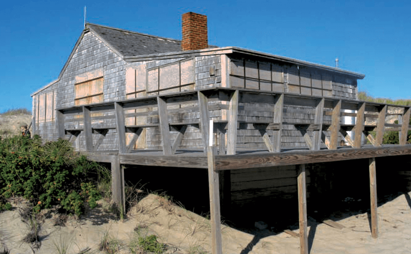 david and marcia adams shack_ dune shacks of peaked hill bars historic district