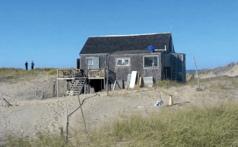 nathaniel and mildred champlin shack_ dune shacks of peaked hill bars historic district
