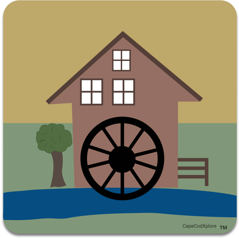 Cape Cod_icon for grist mill