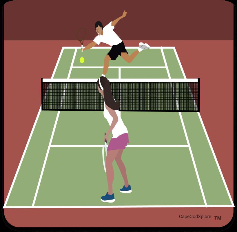 cape cod_icon for tennis courts