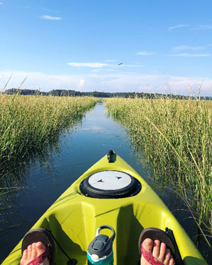 kayaking in cape cod