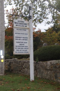 historic village along historic route 6a_old kings highway
