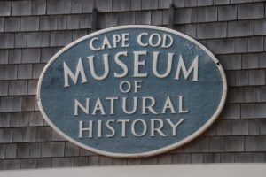 cape cod museum of natural history sign