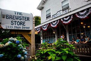 Brewster Store along the Old King's Highway_historic Route 6A