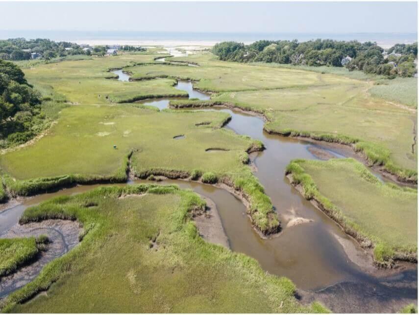 creeks and rivers on cape cod island