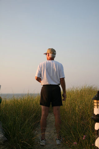 older person on hiking trail_the best activities for seniors on cape cod_retiring on cape cod