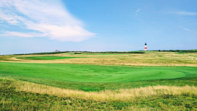 golfing on martha vineyard and nantucket
