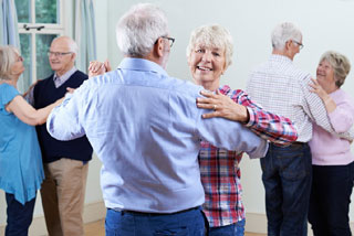 people dancing at one of the retirement communities on cape cod_retiring on cape cod