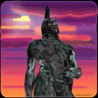 wampanoag statue_wampanoag tribe history