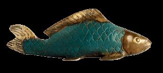 photo of fish sculpture_art of cape cod_cultural attractions of cape cod
