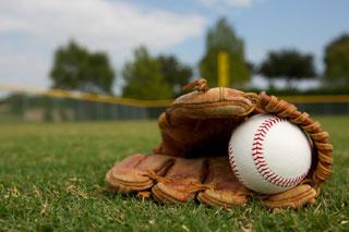 baseball glove with ball_cape cod baseball_cape cod activities