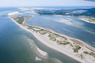 aerial view of cape cod beach_cape cod beaches_things to do on cape cod