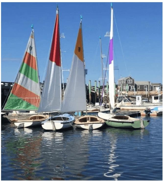sailboats at dock_cape cod boat rentals