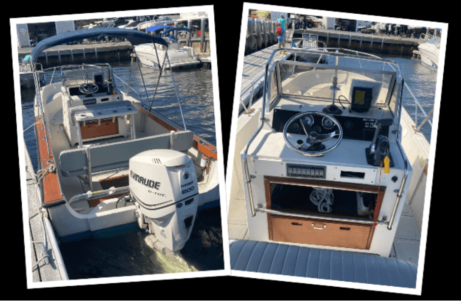 interior photos of boats_boat rentals on cape cod