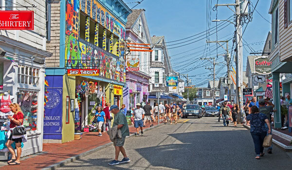 street in provincetown_things to do on cape cod in the winter