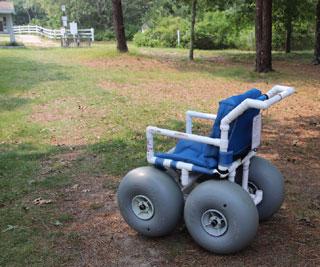 cape cod beaches: wheelchairs accessibility