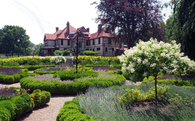 highfield hall gardens